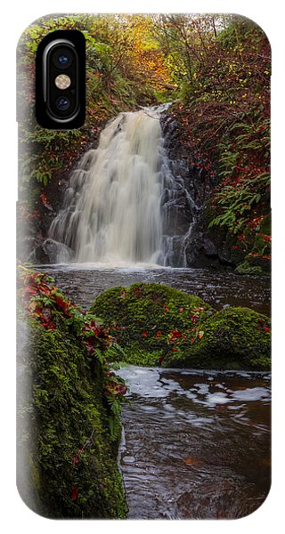 Gleno Falls Portrait View IPhone Case