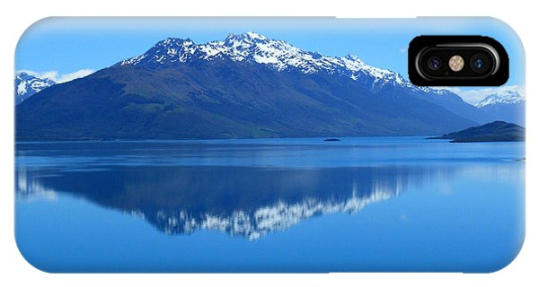 Glenorchy Road New Zealand IPhone Case