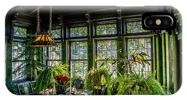 Glensheen Mansion Breakfast Room IPhone Case