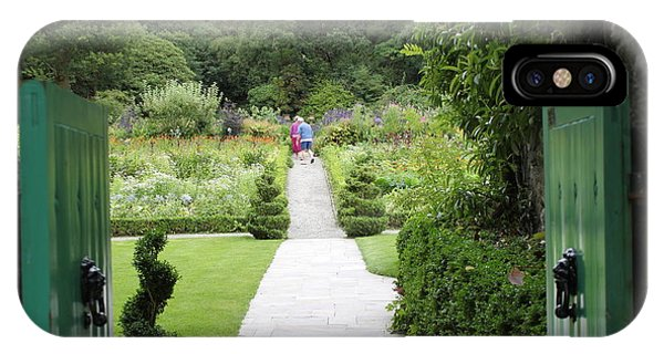 Glenveagh Castle Gardens 4272 IPhone Case