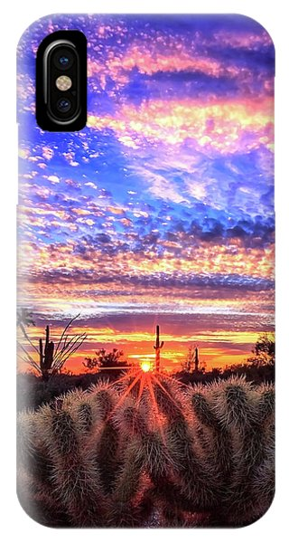Glimmering Skies IPhone Case