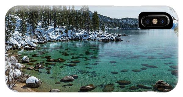 Glistening Cove By Brad Scott IPhone Case