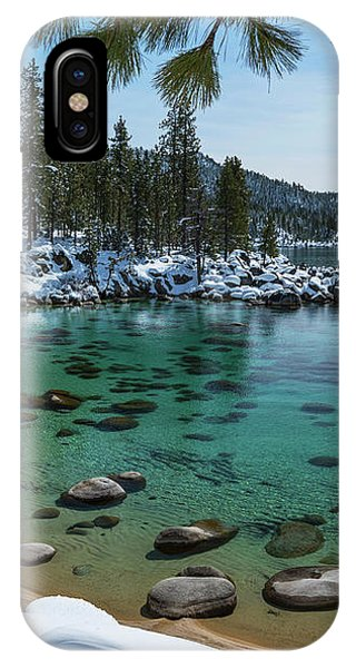 Glistening Cove By Brad Scott IPhone Case