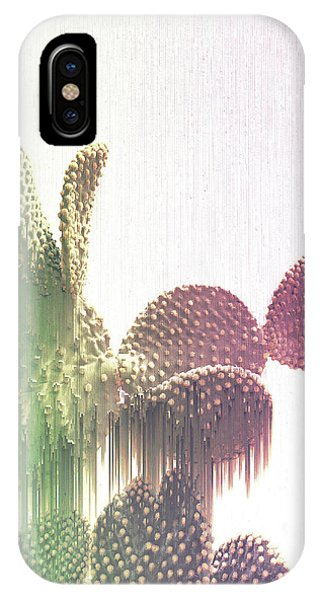 Glitch Cactus IPhone Case