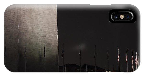 Glmpse Of The Washington Monument IPhone Case