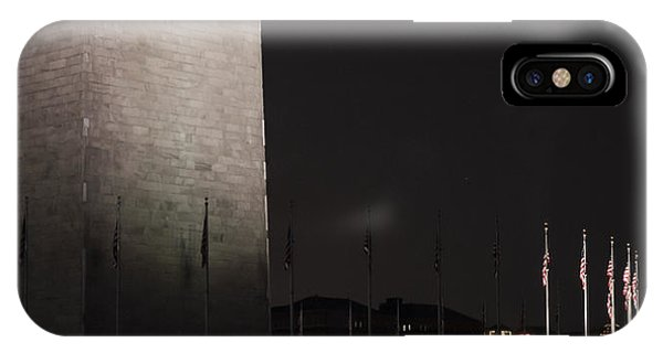 Glmpse Of The Washington Monument IPhone Case