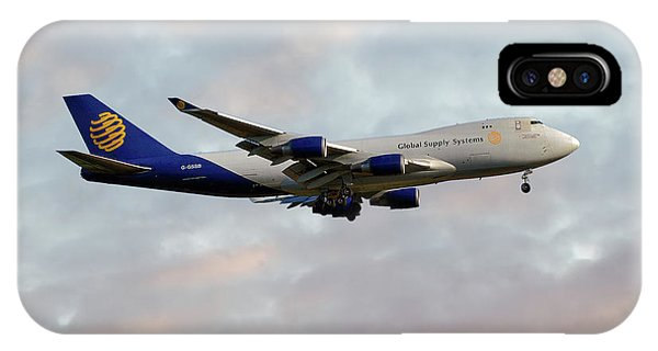 Global Supply Sysytems  Boeing 747-47uf IPhone Case