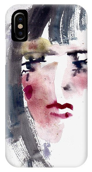 Gloomy Woman  IPhone Case