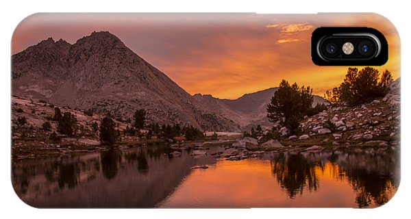 Glorious Sierra Sunset IPhone Case