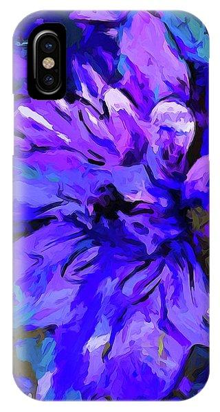 Glory Blue IPhone Case