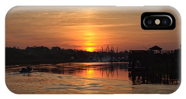Glory Of The Morning On The Water IPhone Case