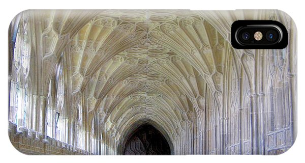 Gloucester Cathedral Cloisters IPhone Case