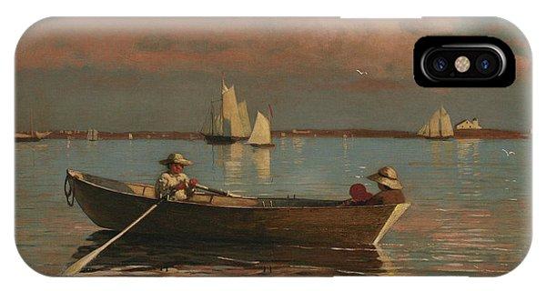 Homer iPhone Case - Gloucester Harbor by Winslow Homer