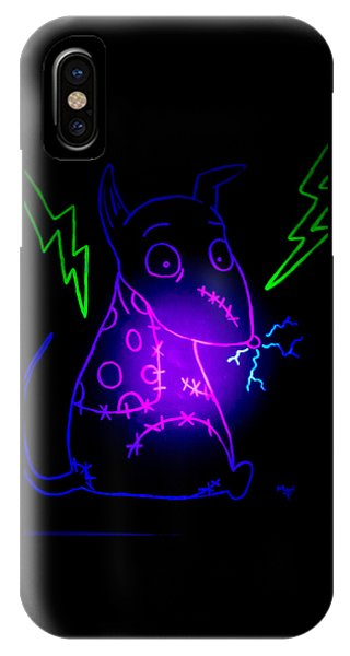Glow Frankenweenie Sparky IPhone Case