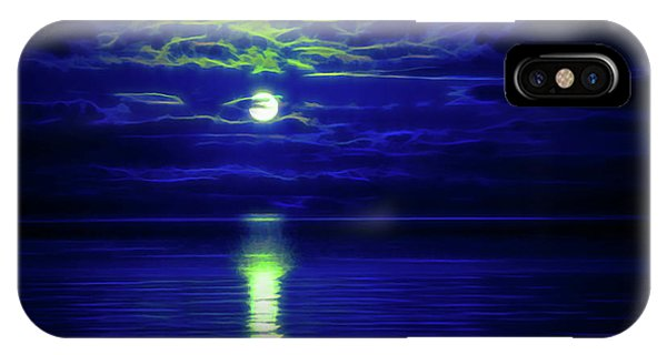 Glow In The Dark Amazing Sunset  IPhone Case