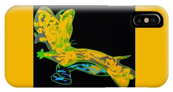 Glow Stick IPhone Case