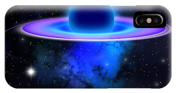 Endless iPhone Case - Glowing Black Hole  by Corey Ford