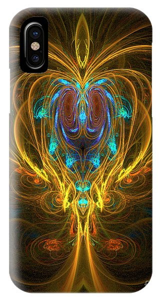 IPhone Case featuring the digital art Glowing Chalise by Sandra Bauser Digital Art