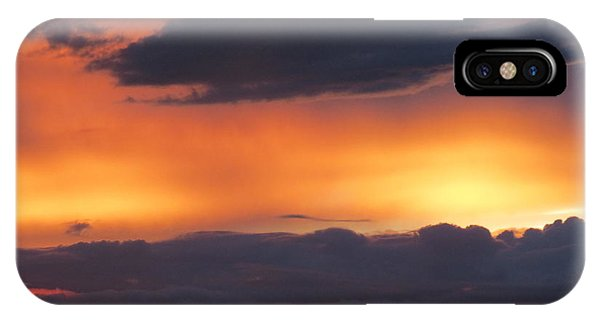 Glowing Clouds IPhone Case