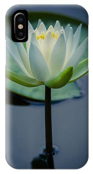 Glowing Lily IPhone Case
