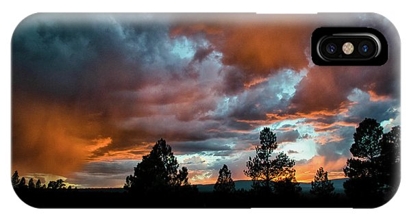 Glowing Mists IPhone Case