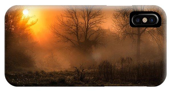 Sunrise iPhone Case - Glowing Sunrise by Everet Regal