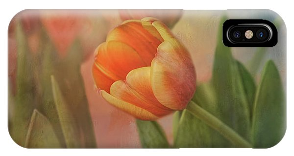 Glowing Tulip IPhone Case