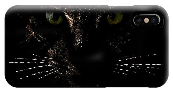 Glowing Whiskers IPhone Case