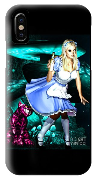 Go Ask Alice IPhone Case