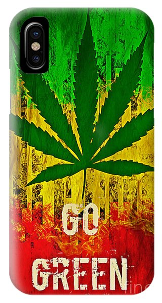 Go Green IPhone Case