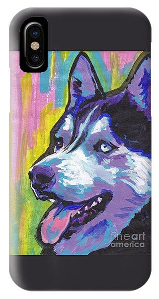 Go Husky IPhone Case
