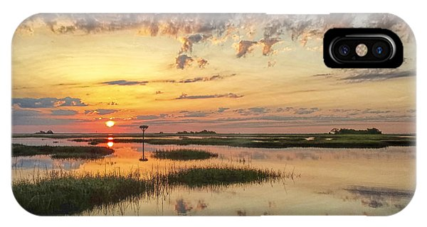 Sunrise Sunset Photo Art - Go In Grace IPhone Case