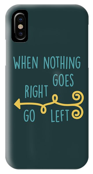 Go Left IPhone Case