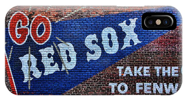 Go Red Sox IPhone Case