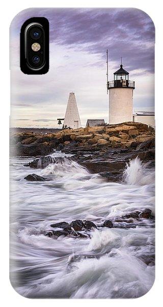 Goat Island Lighhouse IPhone Case