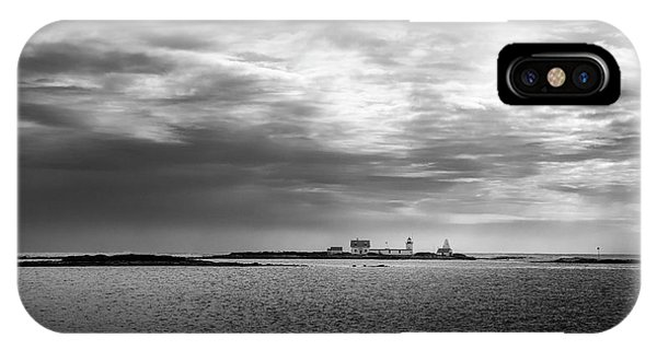 Goat Island Light, Cape Porpoise, Maine IPhone Case