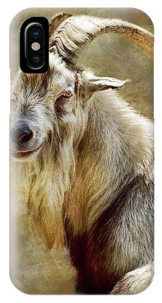 Goat Portrait IPhone Case