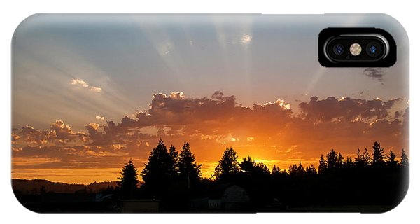 God Beams IPhone Case