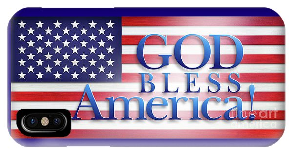 God Bless America IPhone Case