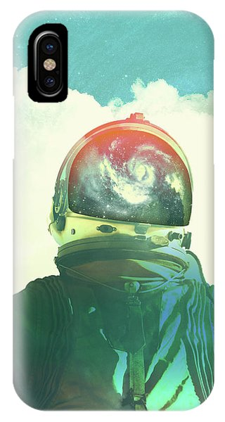 Surreal iPhone Case - God Is An Astronaut by Fran Rodriguez