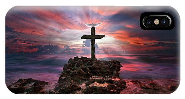 God Is My Rock Special Edition Fine Art IPhone Case