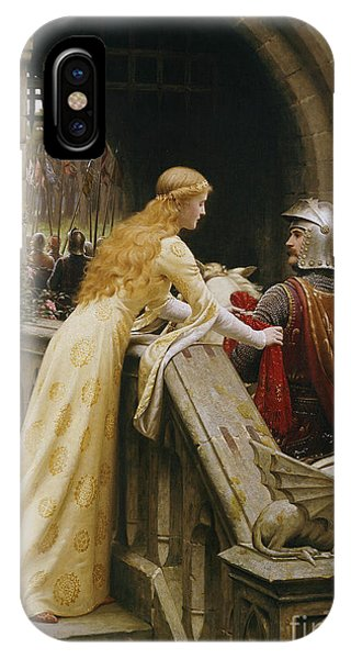 Castle iPhone Case - God Speed by Edmund Blair Leighton