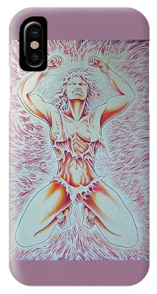 iPhone Case - Goddess Breaking Chains by Jacki Randall