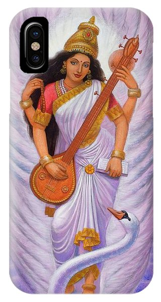 Goddess Saraswati IPhone Case