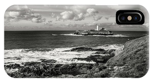 Godrevy Lighthouse 1 IPhone Case