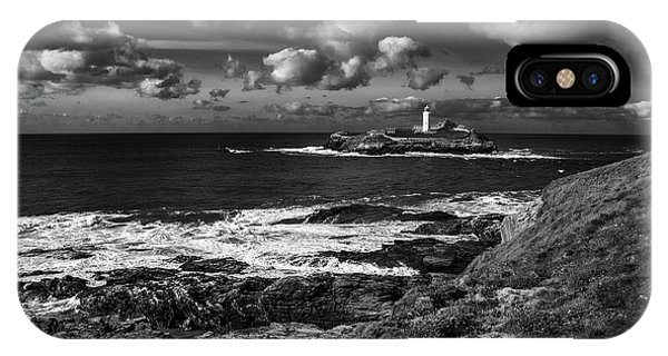 Godrevy Lighthouse 2 IPhone Case
