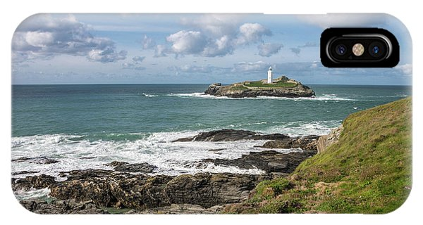 Godrevy Lighthouse 3 IPhone Case