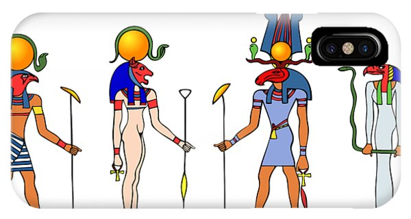 Gods And Goddess Of Ancient Egypt IPhone Case