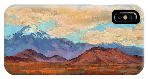God's Creation Mt. San Gorgonio  IPhone Case