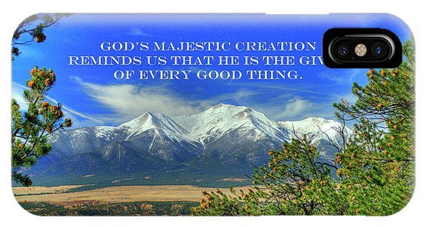 God's Majestic Creation IPhone Case